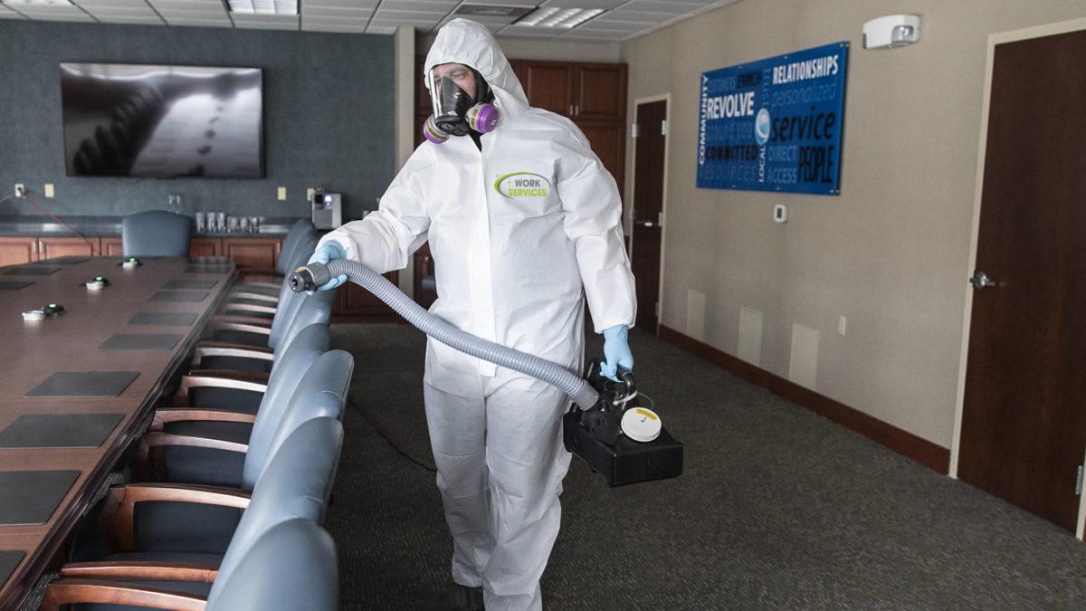 kill viruses fogger