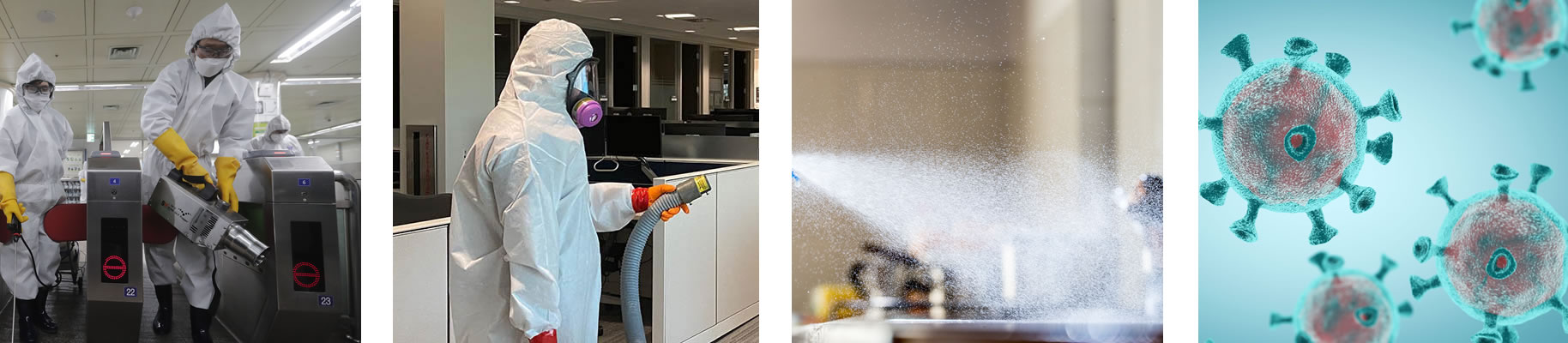 work services steam care disinfecting sanitizing