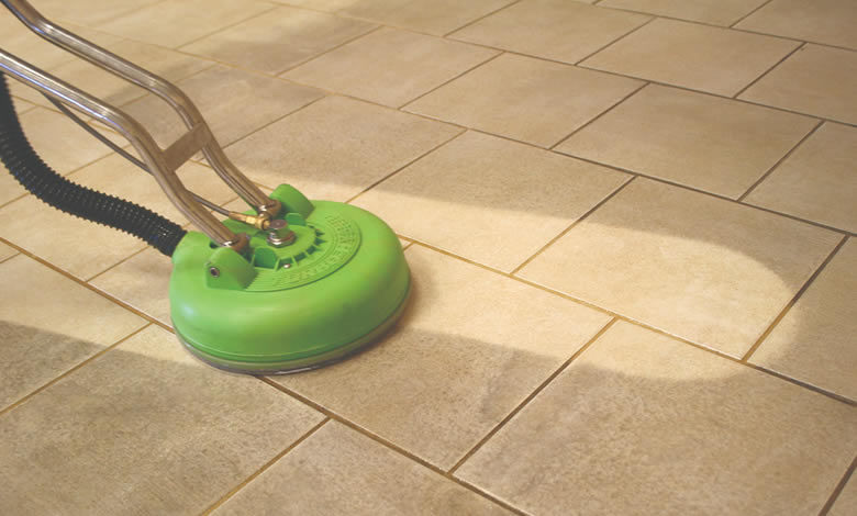 tile and grout steam care